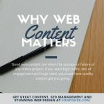 Why Web Content Matters
